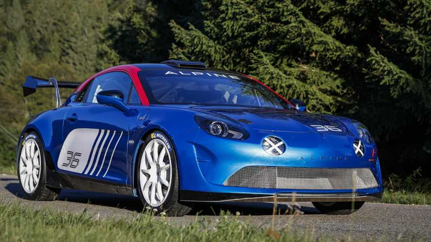 Alpine A110 Rally unveiled for 2WD competition beginning In 2020