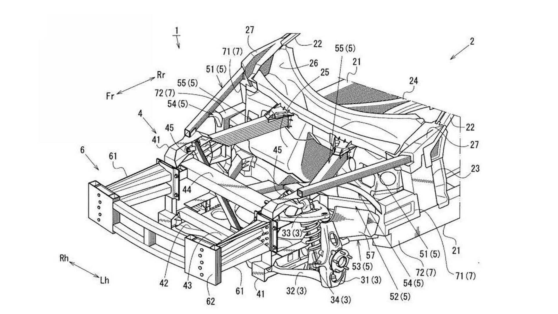 Patent hints at possible development of Mazda RX-9