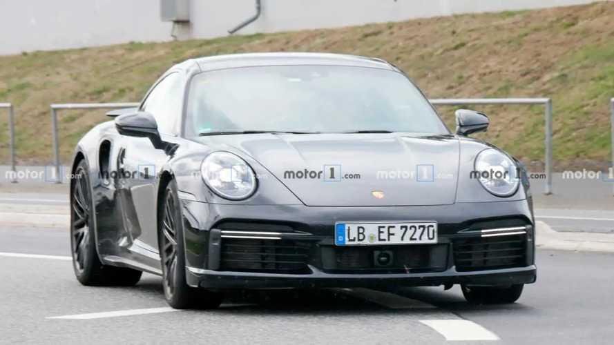 Porsche 911 Turbo Nurburgring Spy Photos