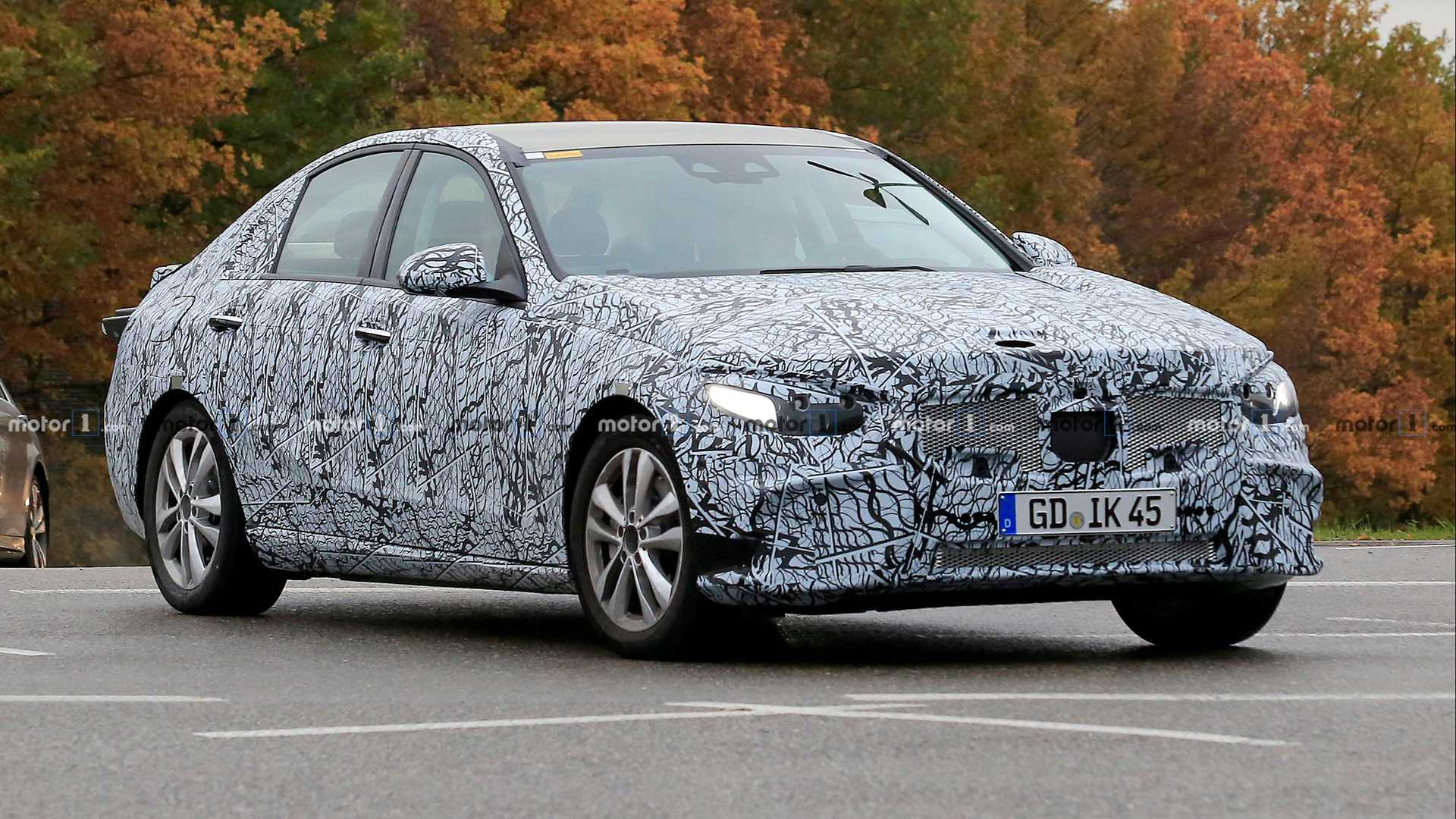 New Mercedes Benz C Class Spied For The Very First Time