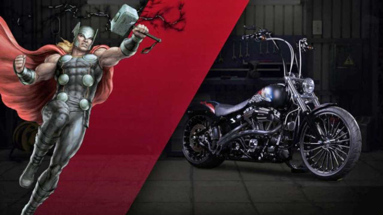 """Thor - Harley-Davidson Breakout """"Fearless"""""""