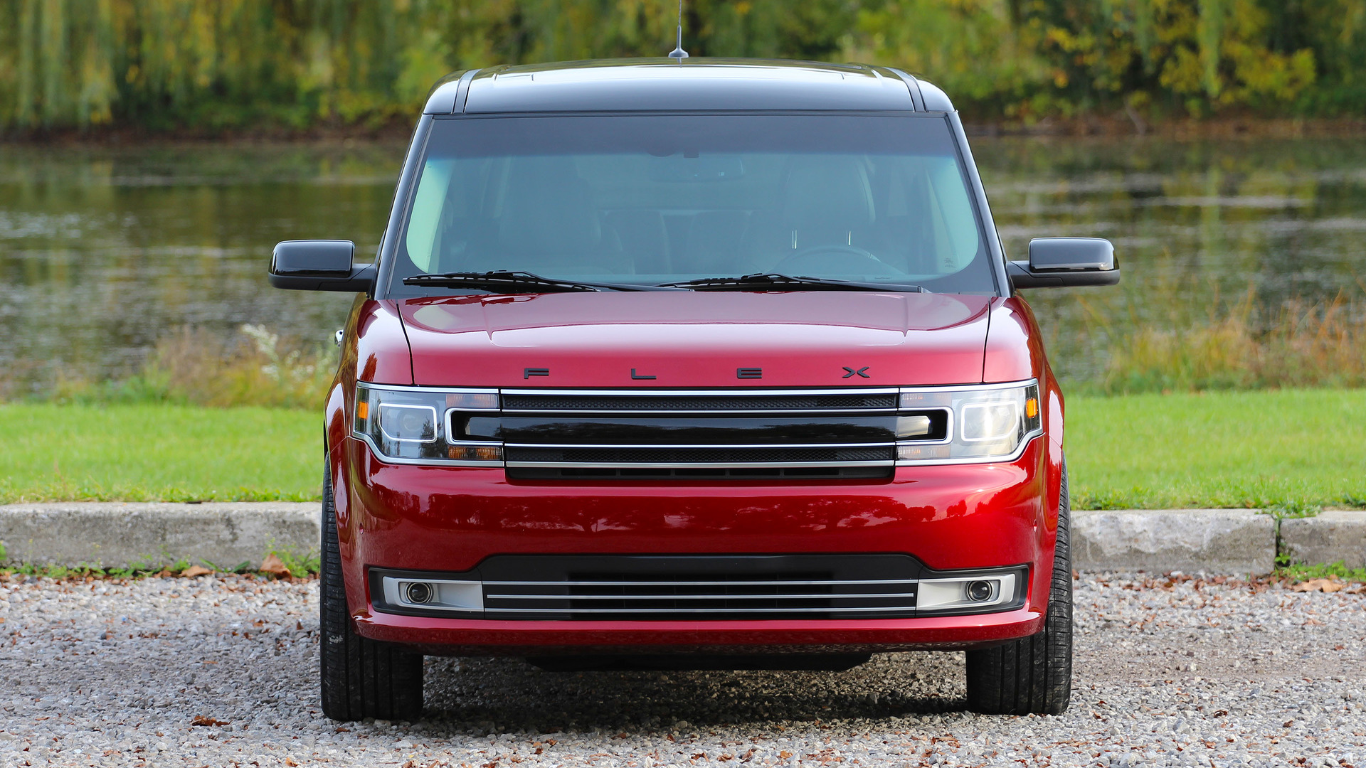 how much weight can a ford flex tow