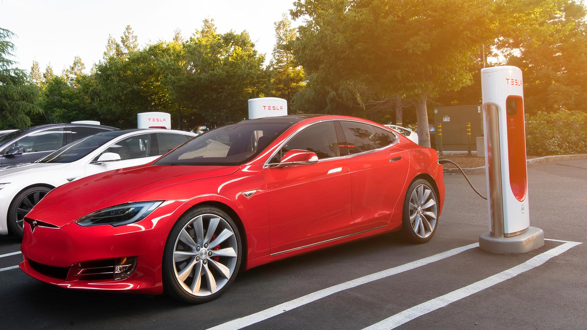 Rede de Supercharger Tesla