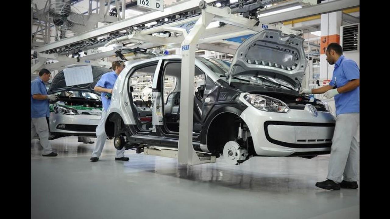 VW vai suspender contratos de trabalho de 120 funcionários em Taubaté