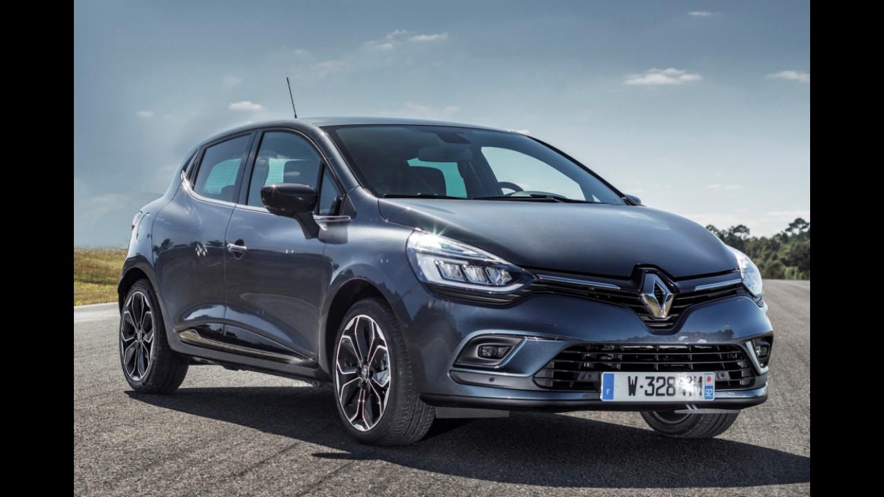 Nova geração do Renault Clio estreia em 2018 e promete interior