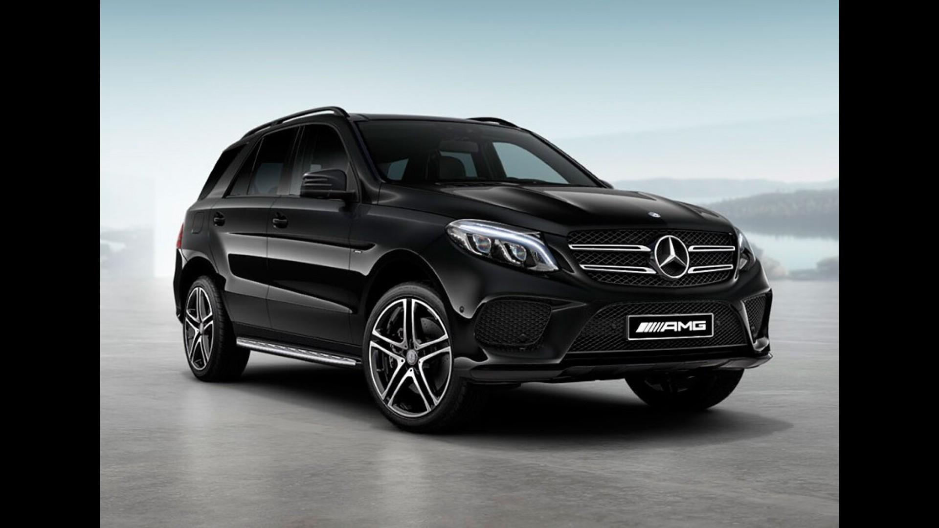 Mercedes Gle Ganha Serie 450 Amg Black Editon De 367 Cv Por R 475 9 Mil