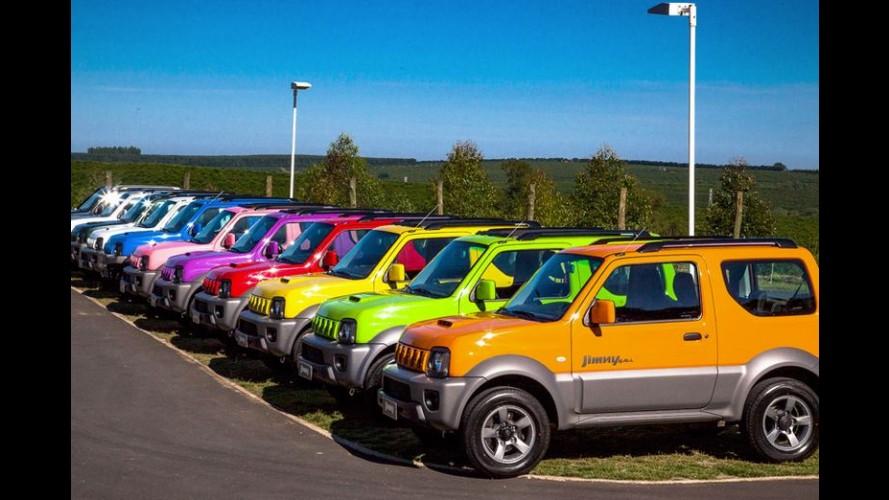 Projeção: um novo Suzuki Jimny deverá surgir em 2018