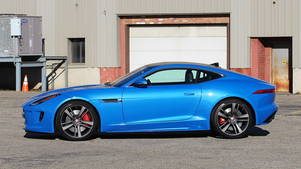 2017 Jaguar F Type Coupe: Review