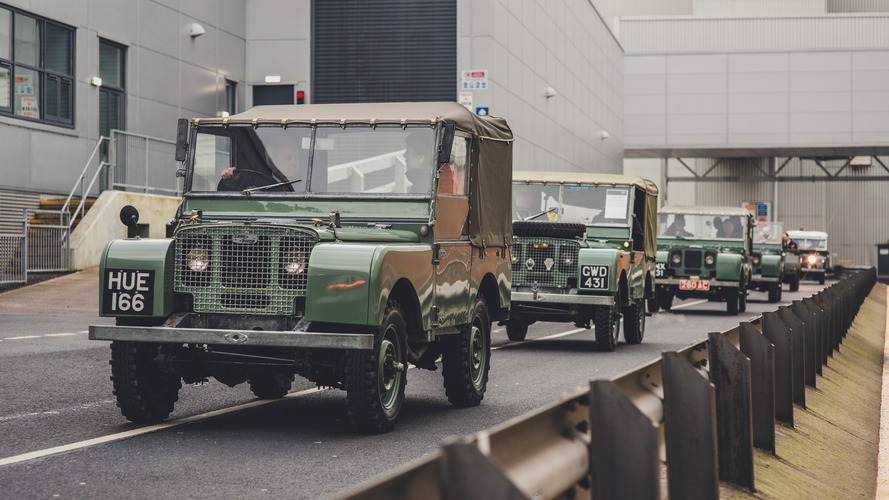 Gallery: 70 Years Of Land Rover