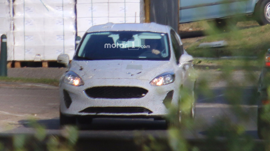 2017 Ford Fiesta caught from afar with less camo than ever