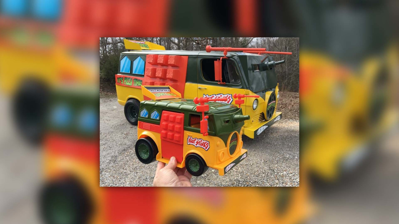 TMNT Van