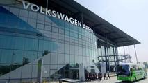 Petter Solberg fait drifter le VFL Wolfsburg