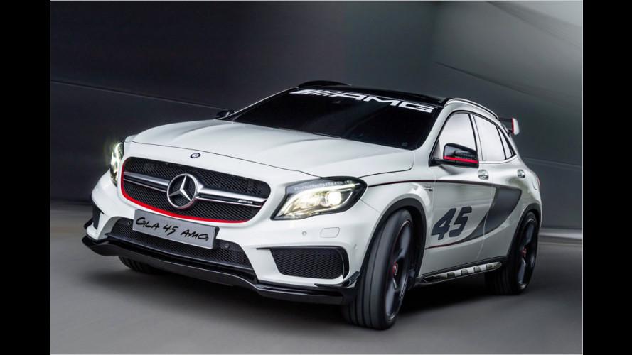 Mercedes GLA 45 AMG mit 360 PS