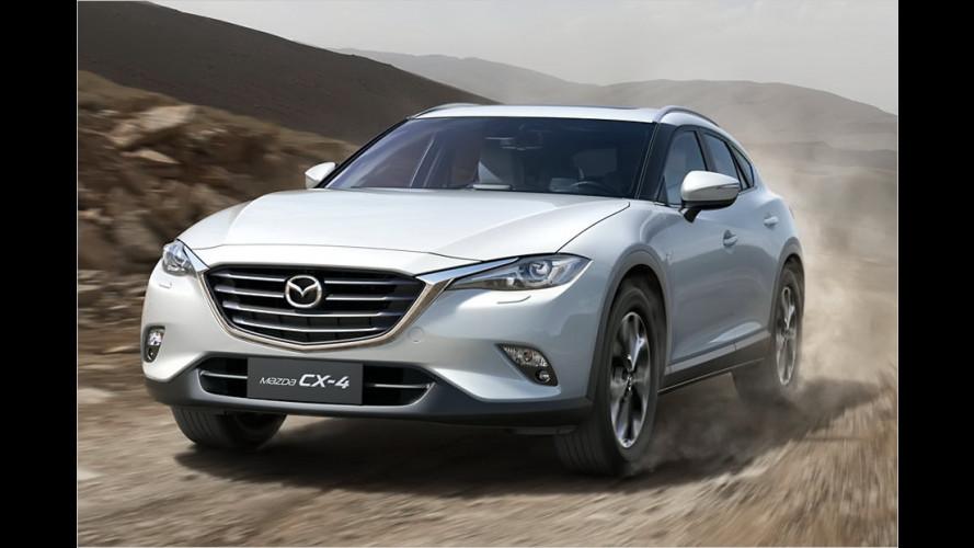 Mazda CX-4 in Peking vorgestellt