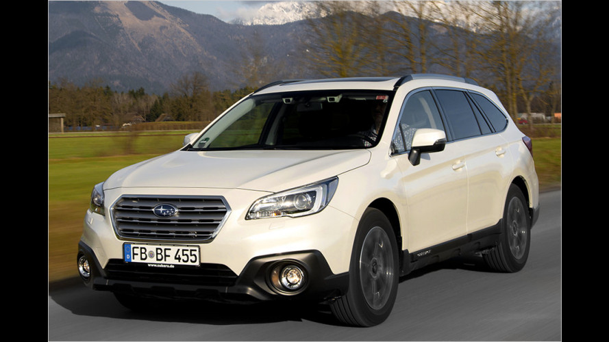 Subaru Outback 2.0D Lineartronic mit Eyesight-System im Test