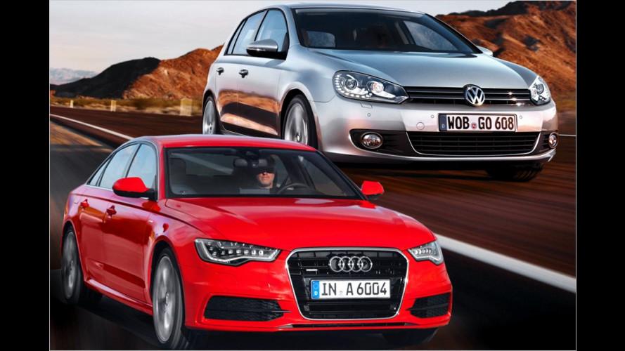Die beliebtesten Autos der Deutschen