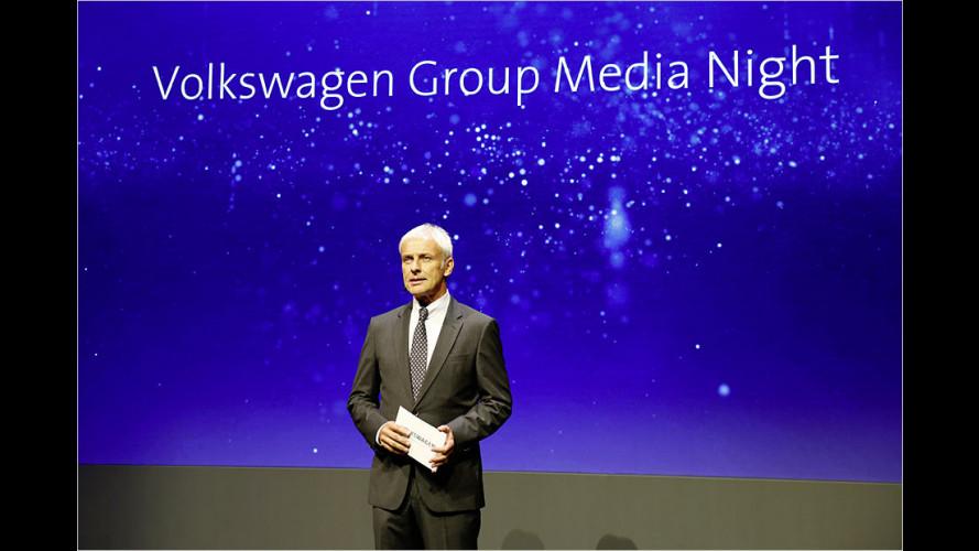 Der Volkswagen-Konzern schwenkt um