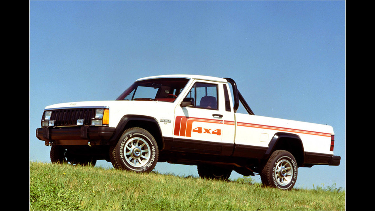 Jeep Comanche (MJ): 1986-1992