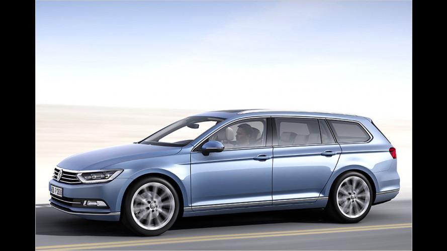 VW Passat (2014): Achte Auflage erstmals mit Plug-in-Hybrid