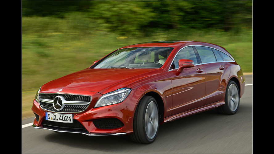 Gelifteter Mercedes CLS Shooting Brake im Test