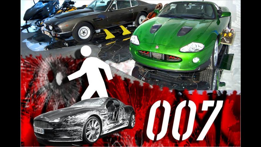 Damit geben Agent 007 und seine Gegner Gas