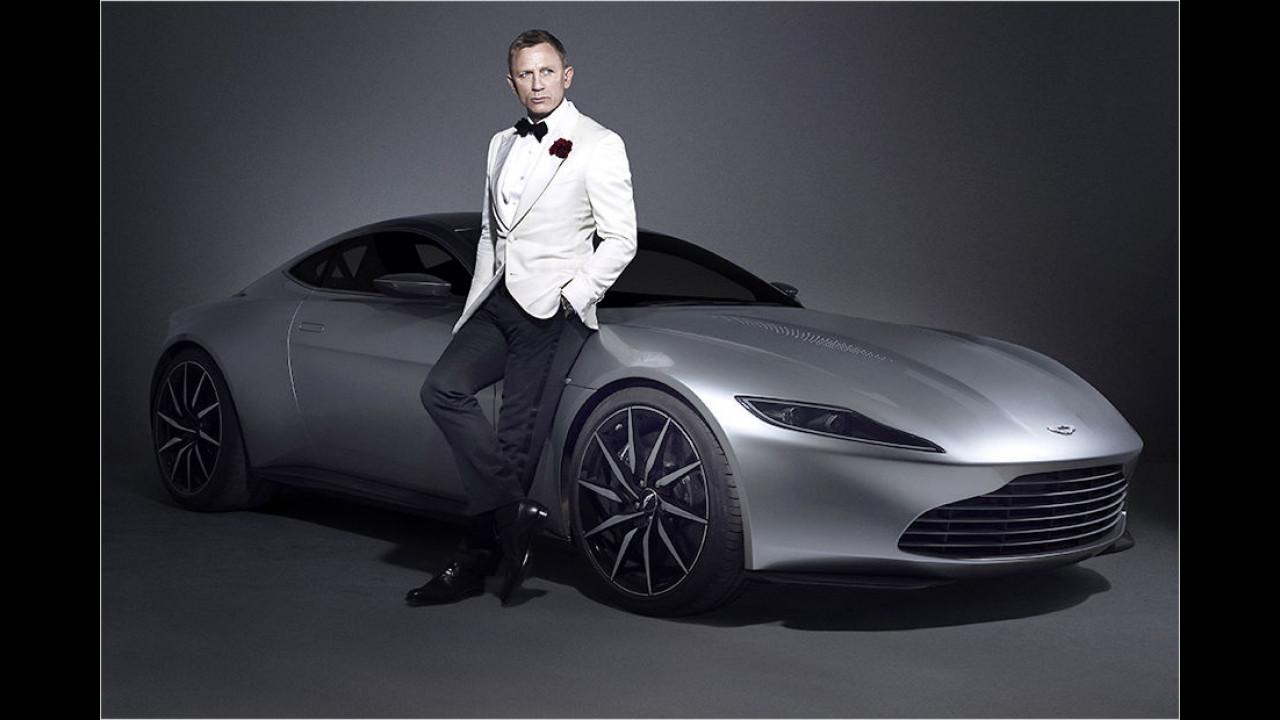 Einmal fahren wie James Bond