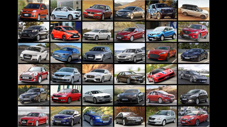 Bestseller: Die beliebtesten Autos Deutschlands
