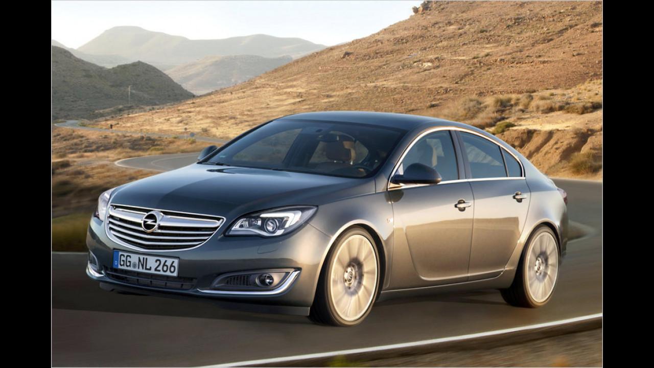 Ford Mondeo gegen Opel Insignia