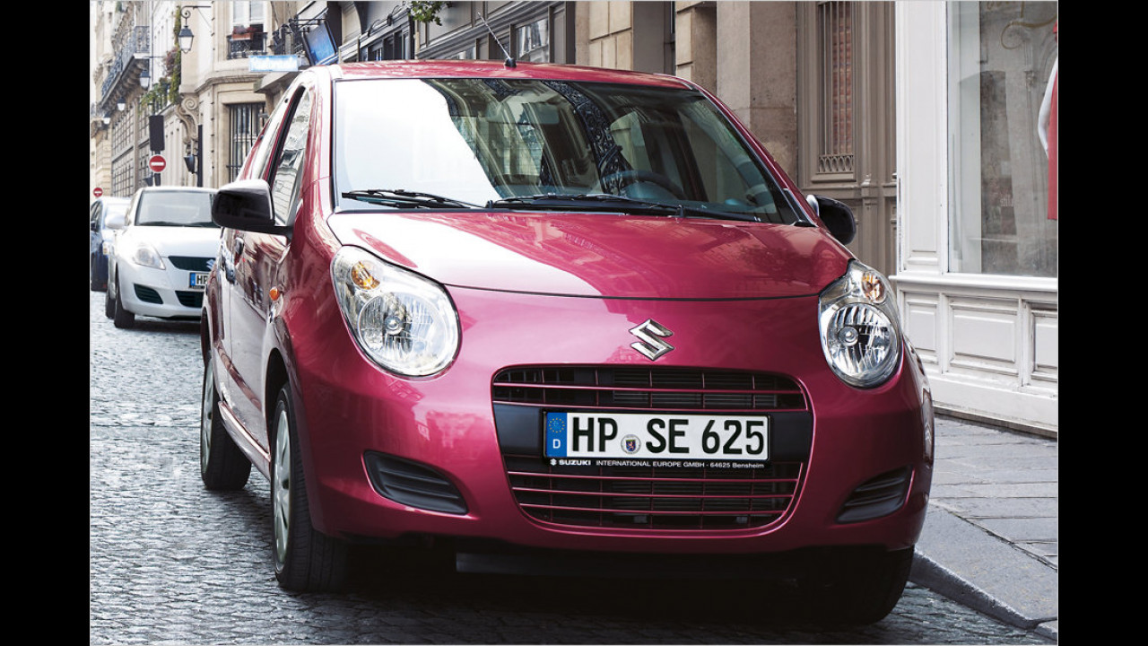VCD Auto-Umweltliste, geteilter Platz 10: Suzuki Alto 1.0, 7,03 Punkte