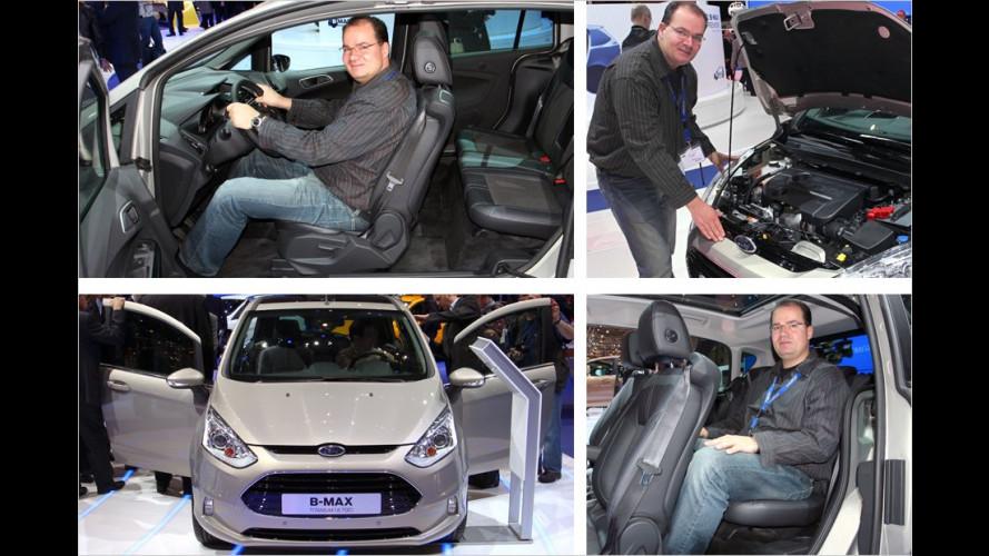 Neuer Ford B-Max: Erste Sitzprobe und Preise