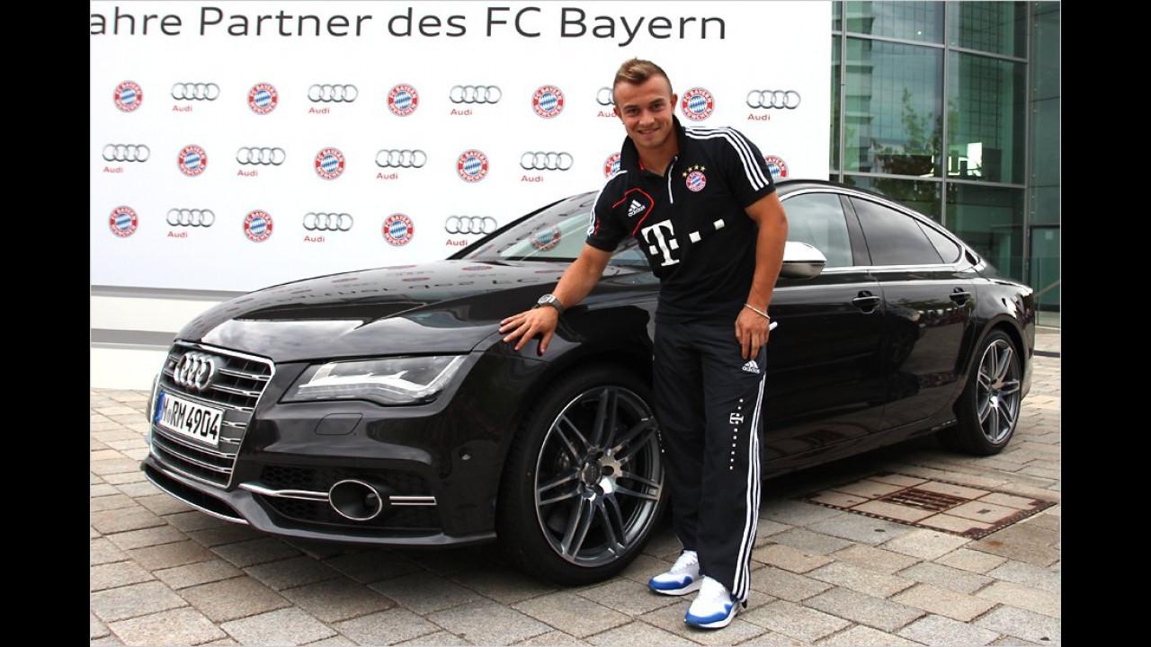 Xherdan Shaqiri: Audi S7