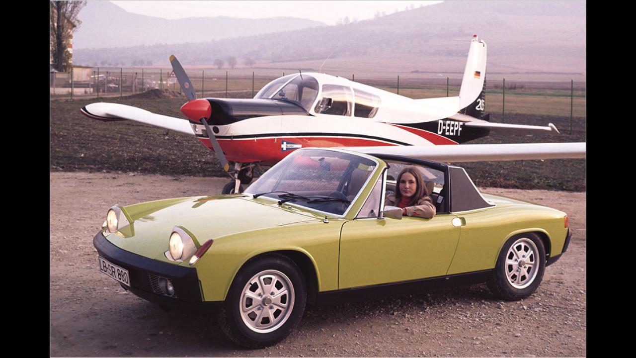 Der Porsche 914 (1969 bis 1976)