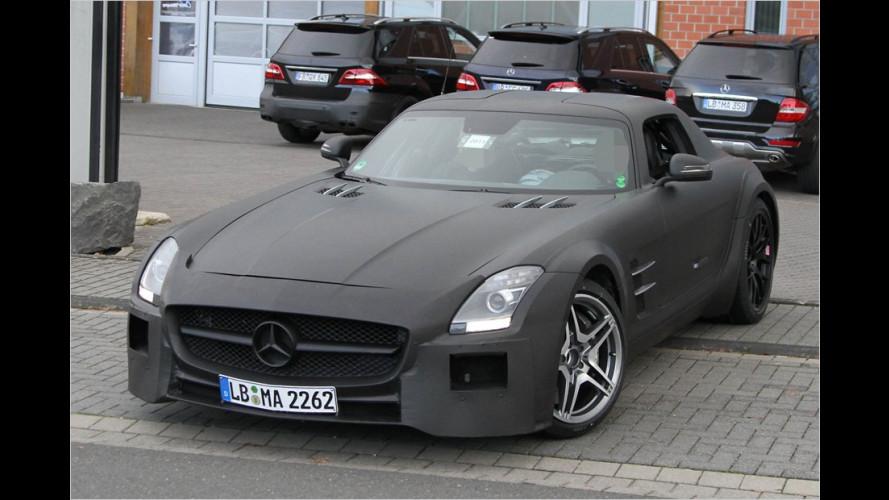 Erwischt: Mercedes SLS AMG als Black Series