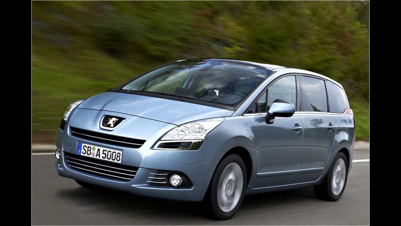 Vans, 1. Platz: Peugeot 5008