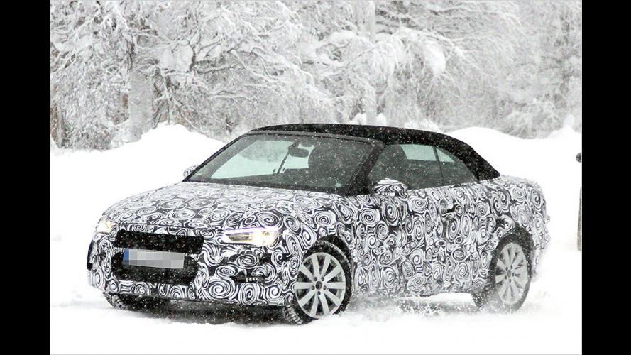 Audi A3 Cabrio als Erlkönig (2013)