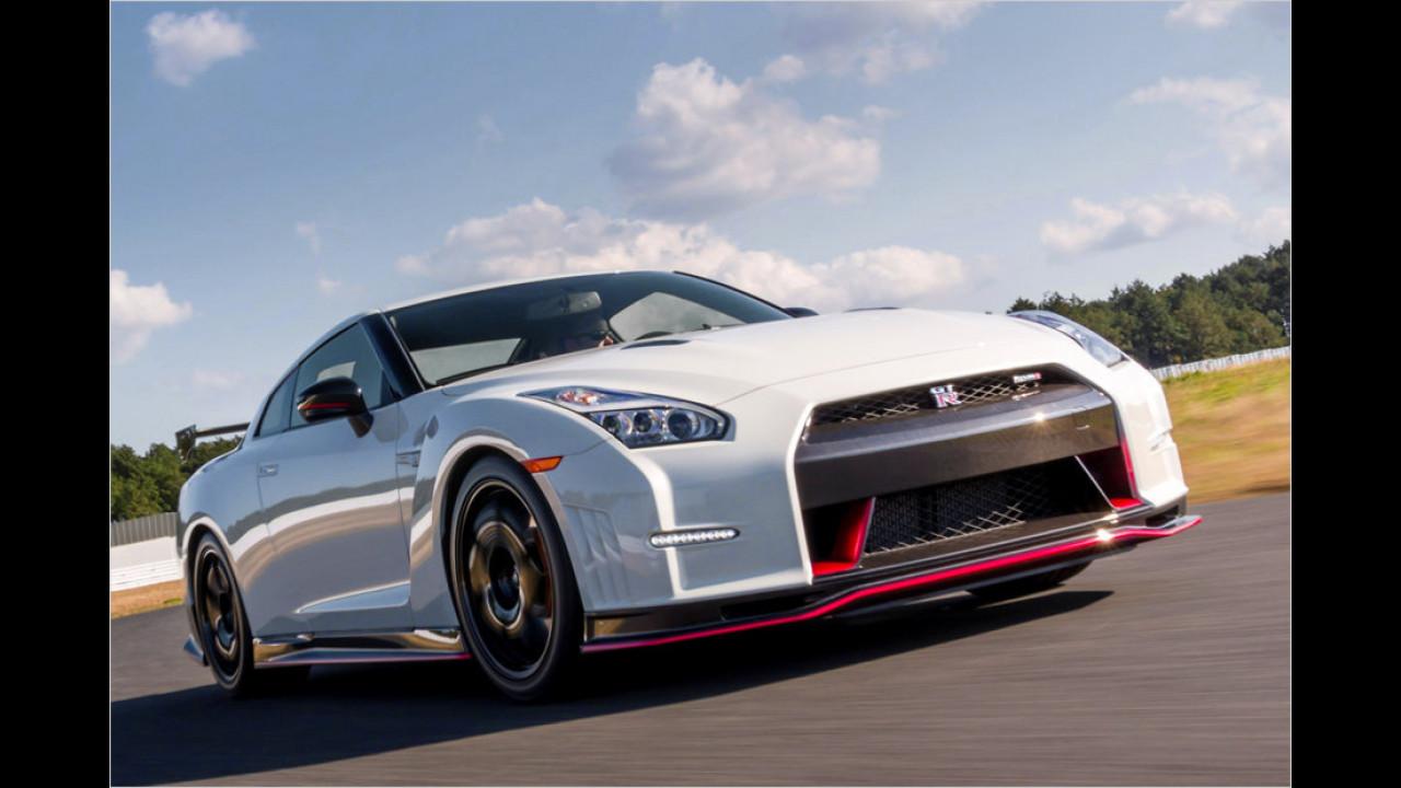 Nissan GT-R Nismo: 7:08 Minuten (schnellster Turbo)