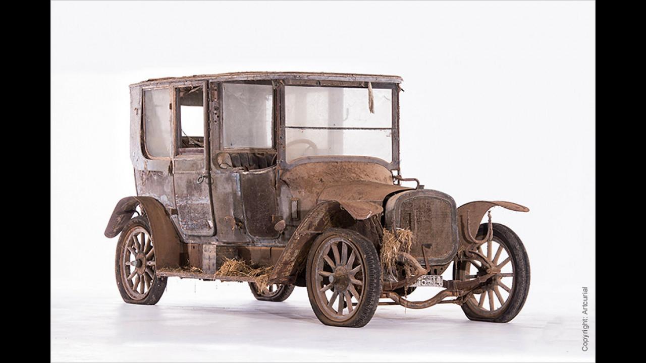 Delahaye Type 43 Coupé-Chauffeur Audineau et Cie. (1914)