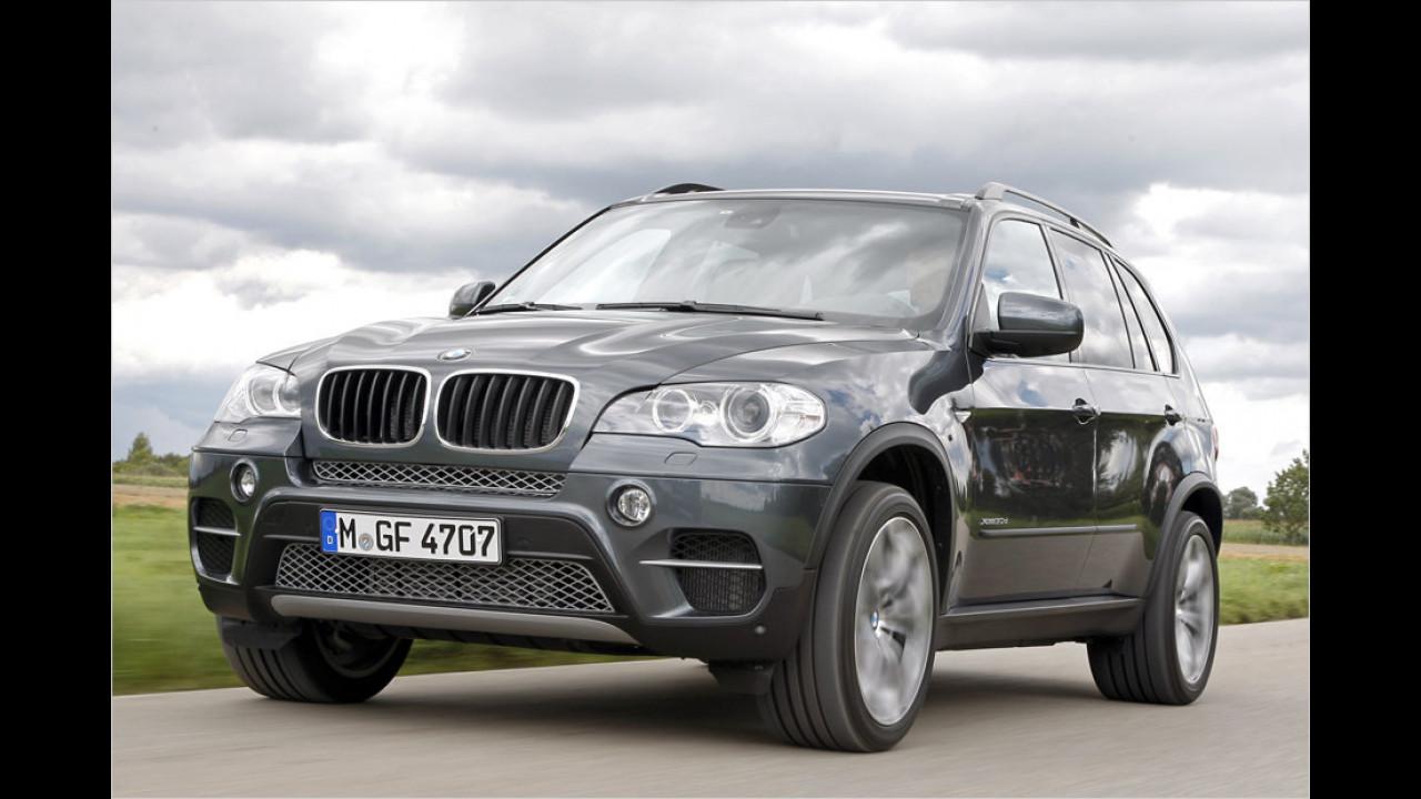 Platz 4: BMW X5/X6 3.0sd