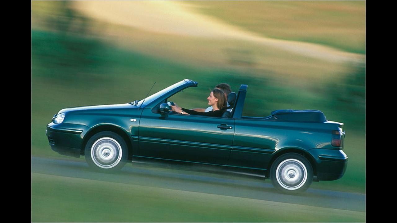 Platz 2: VW Golf III Cabriolet