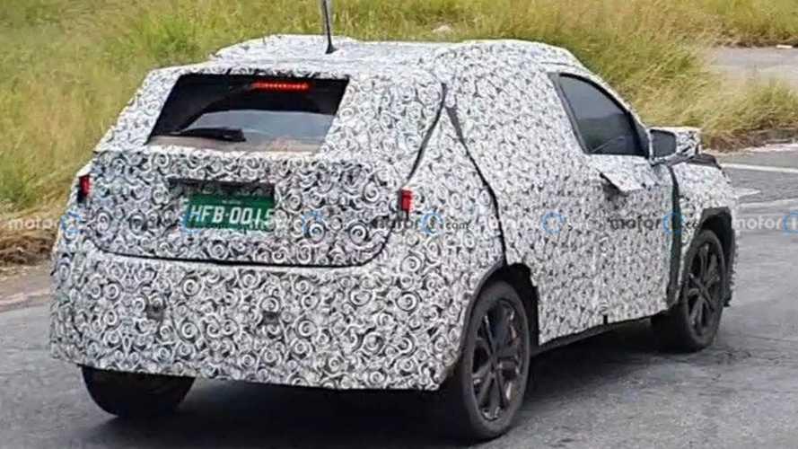 Flagra: Fiat 363 (SUV do Argo)
