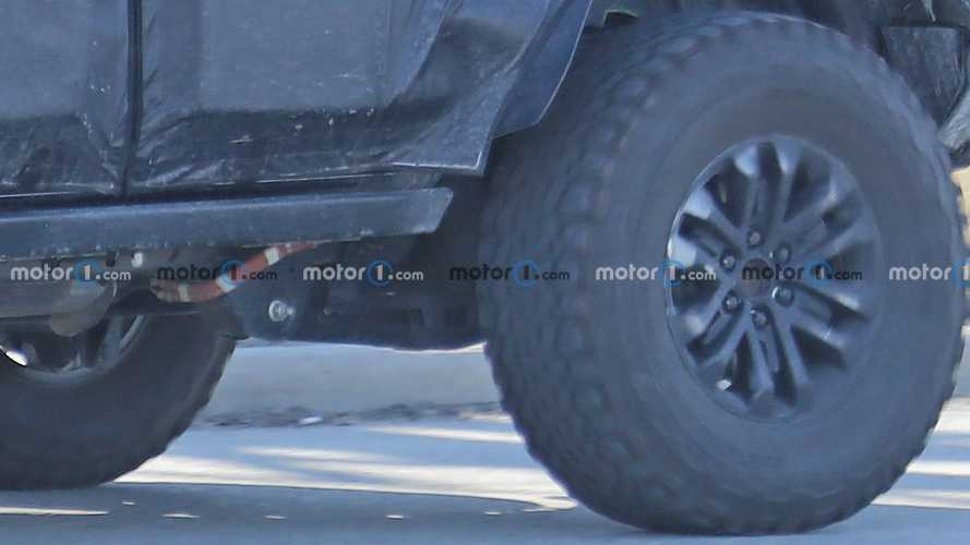 Ford Bronco Warthog Four-Door New Spy Photos
