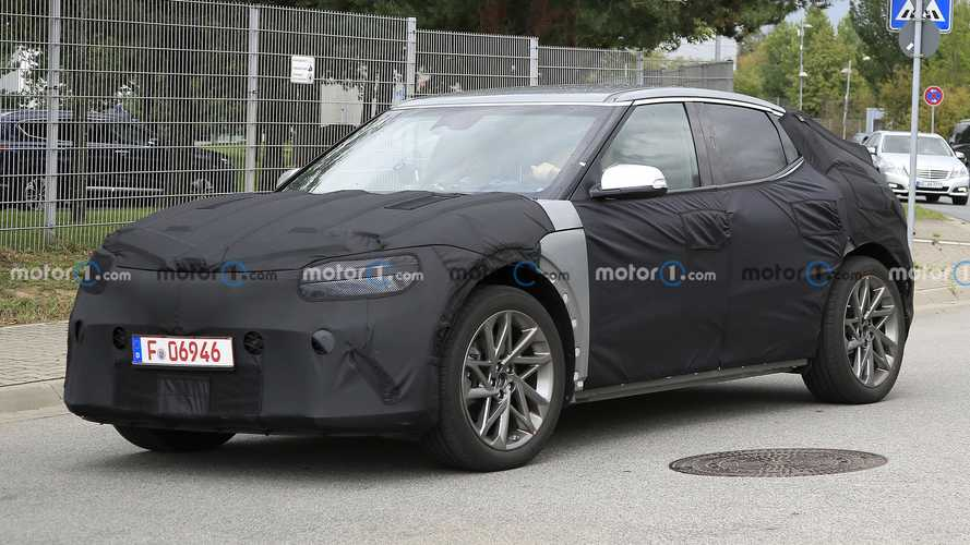 Genesis GV60 Electric Crossover Spied Looking Rather Mysterious