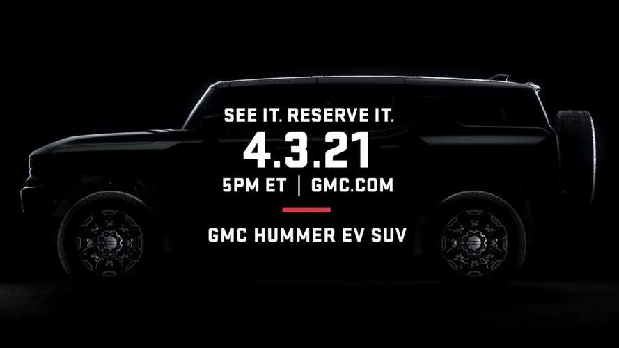 GMC Hummer Electric SUV Teased Again Before This Week's Reveal