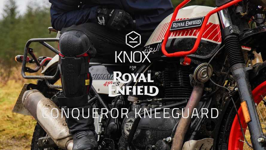 Royal Enfield Teams Up With Knox To Launch Conqueror Kneeguards