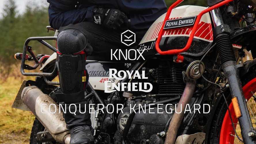 Royal Enfield dan Knox Luncurkan Pelindung Lutut  yang Nyaman