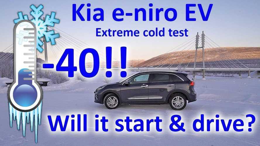 Kia Niro EV Tested At -40°C! Will It Start And Drive?