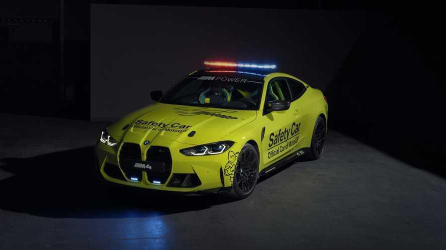 BMW M presenta su flota de Safety Car para MotoGP 2021