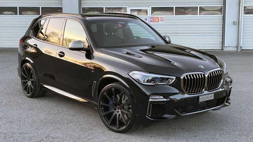 BMW X5 M50i (G05) DCL von Dähler competition line