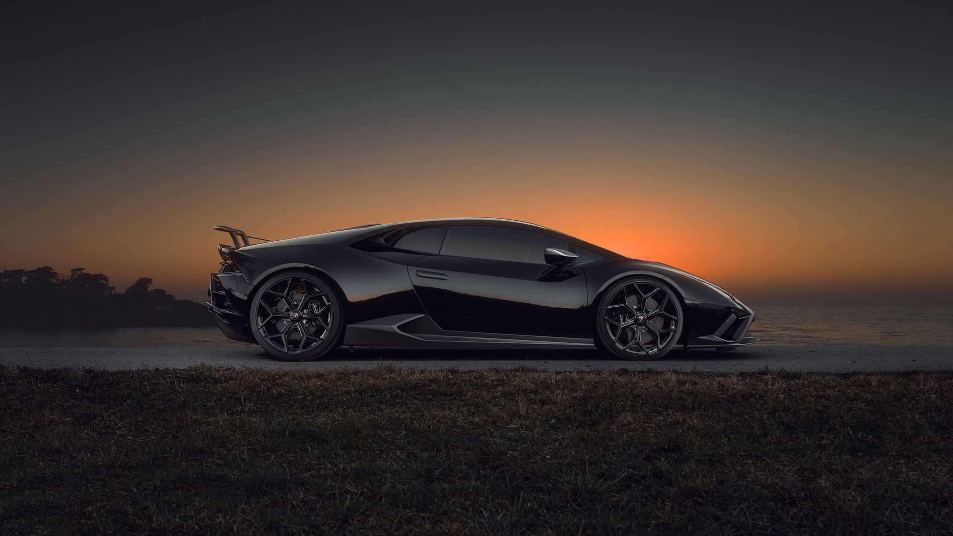 Lamborghini Huracan Evo By Novitec Side