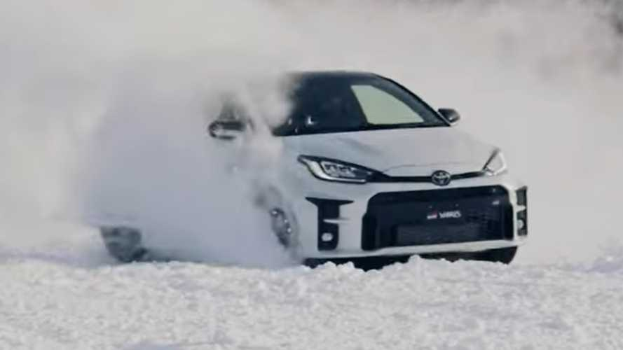 Toyota GR Yaris Seems To Be A Real Hoot In The Snow